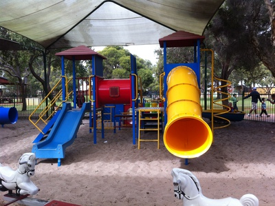 Whiteman Park Village Playground