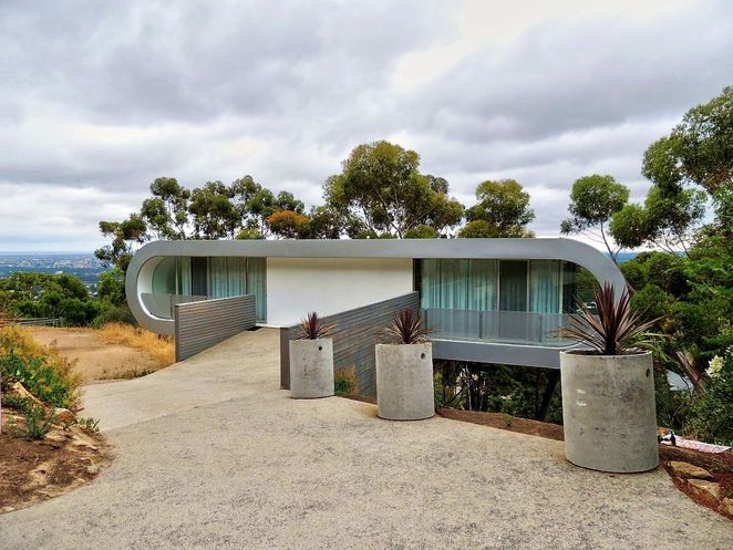 adelaides most unusual houses, unusual houses, christie walk, in adelaide, adelaide hills, green homes, sustainable, mansions, houses in adelaide, house for a car