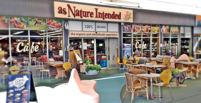 as nature intended, health food shop, cafe, australia, canberra, breakfast, lunch,