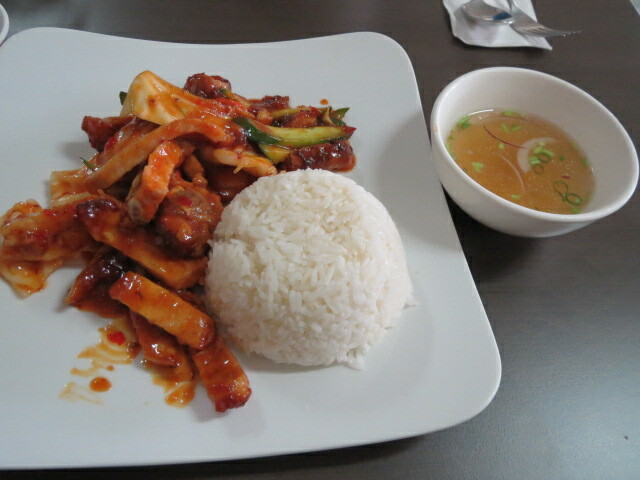 Baria Restaurant, Sweet & Sour Pork Chops, Adelaide