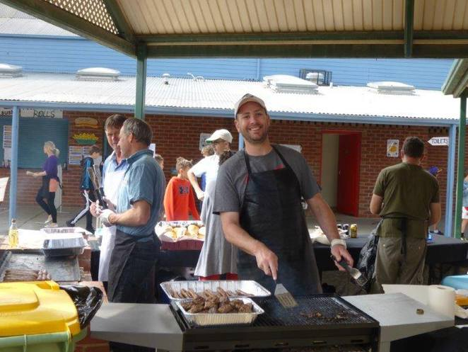 BBQ, barbecue, fundraiser, bunnings, site