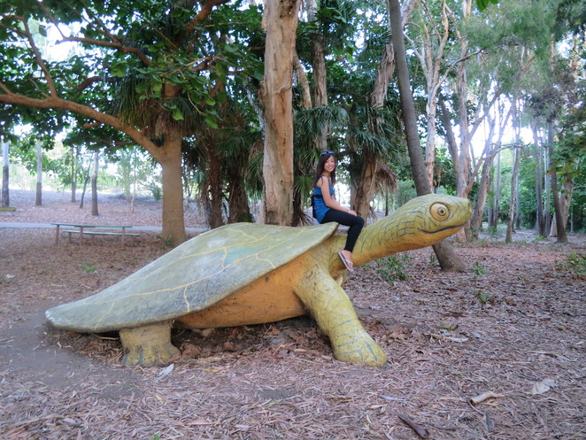 big things, australia, road trip, attraction, tourist, queensland, brisbane, cairns, plantation park, ayr, big turtle, turtle