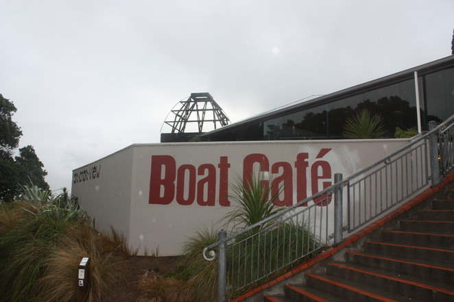 Boat Cafe, Cable Car, Wellington