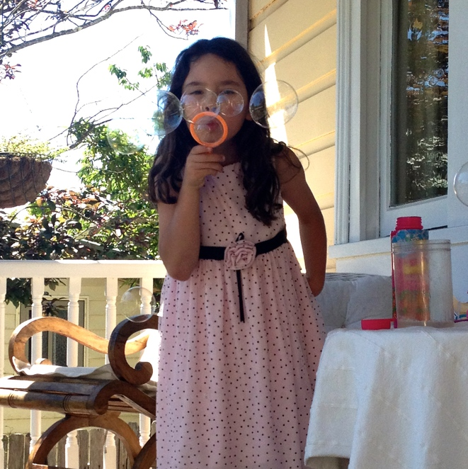 bubble blowing, things to do with kids