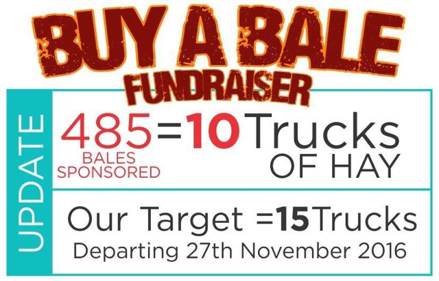 Buy a Bale fundraising dinner, help drought stricken famers, superb dinner, hay bale run in November 2016, James Blundell, country music singer, fun, great cause, help the farmers and their communities