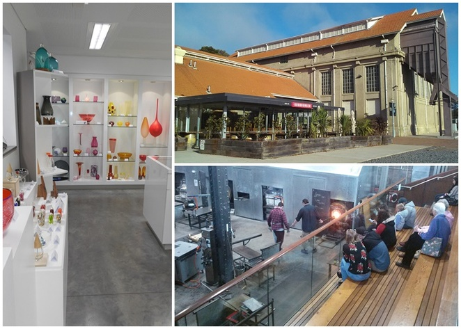 canberra glassworks, kingston, art, glassworks, hot shop, shop, tours, make your own paper weight, ACT, tourist attractions,