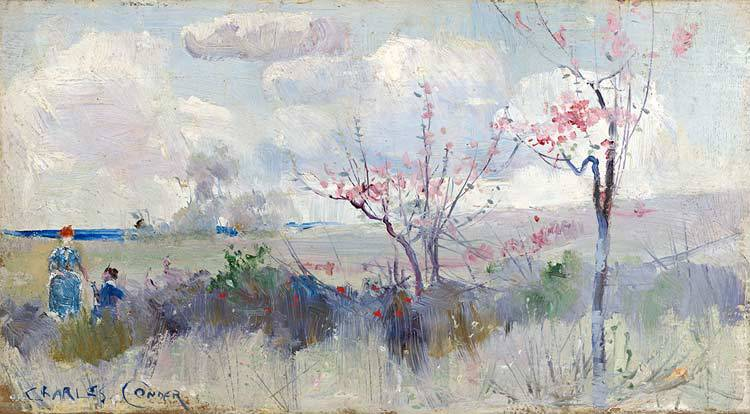 Australian impressionists in france exhibition melbourne for In their paintings the impressionists often focused on
