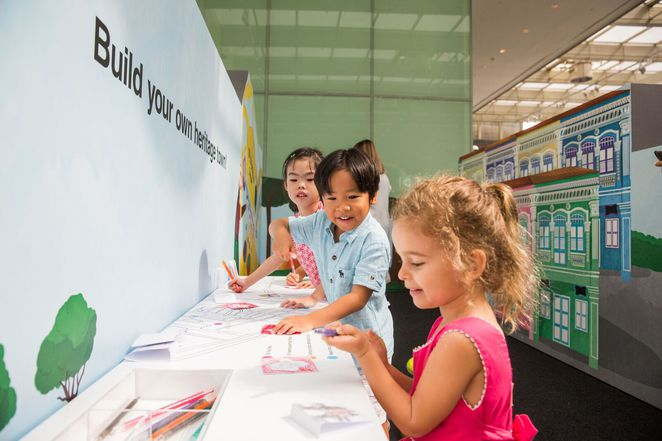 Children's Season at the National Museum, Summer 2017 school holiday, National Museum of Singapore, Joyceline See Tully,Diane Ng Rose,The Little singapore Book, Sim Ee Waun