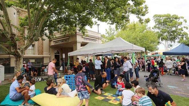 city of unley, Australia day, celebration, multiculturalism, lifestyle, democracy, face painting, games, rumbo and jumpo, mem fox, food trucks