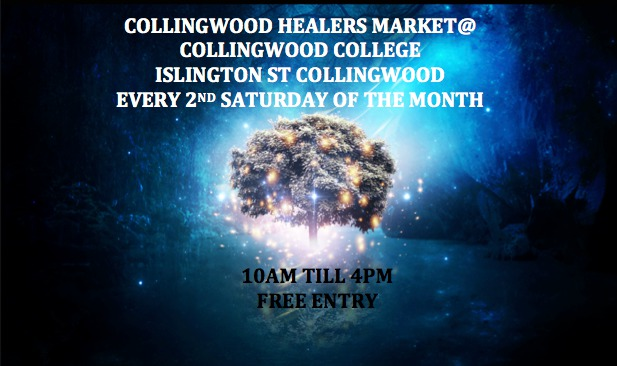 collingwood healers market, collingwood college, tarot, psychic, medium, ribbon reading, massage, spirit drawings, kinesiology, reflrexology, reiki, candles, crystals, jewellery, soaps, henna, feng shui, essential oils