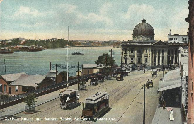 Customs House circa 1906 (Courtesy of Wiki Commons)