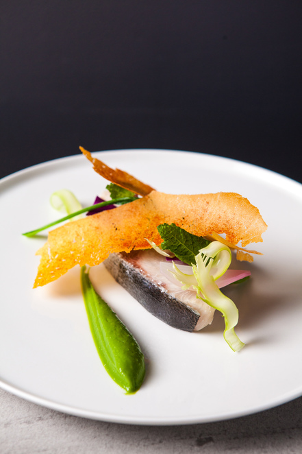 Beautiful and innovative food that changes every week at Dan Arnold Restaurant