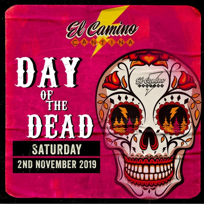 Day of the Dead Party, El Camino Cantina