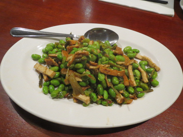 East Taste Cafe, Broad Bean, Bean Curd and Chinese Chutney, Adelaide