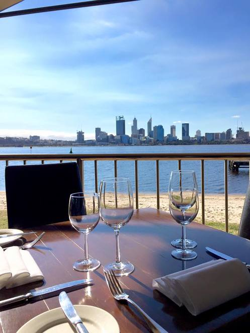 Foreshore, south Perth, restaurant, cafe, Perth cbd, views, menu, cafe, seafood, lunch, dinner, functions
