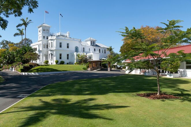 FREE Guided Tours of Government House, March 2021, Fernberg, state-owned residence, Queensland landmark, premier heritage home, historical landmark, special event, Wednesdays, Thursdays, dining room, drawing room, investiture room, small sitting room, art collection, Gavel, vice-regal dog, ninety minute tours, pre-print entry tickets, photo ID, limited photography, no backpacks, no large handbags, Covid-19 restrictions in place