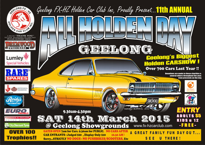 Geelong All Holden Day
