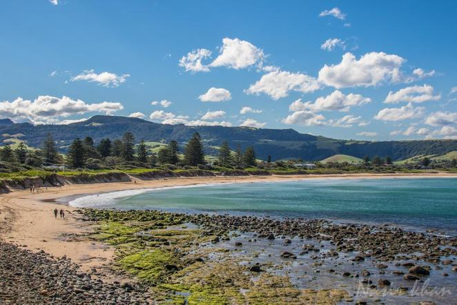 Gerringong beach
