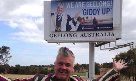 Geelong Mayor Darryn Lyons