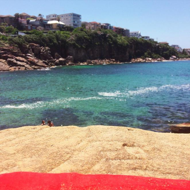 gordon's bay, coogee, eastern suburbs, beach, lagoon, sydney summer