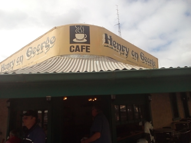 Henry on George, front, Cafe, Moonta, heritage