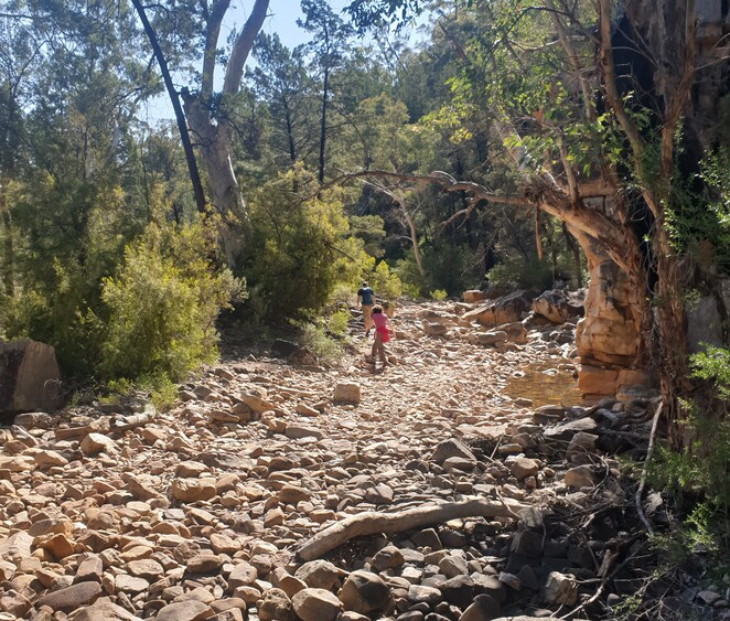 Hidden Gorge, Hiking Melrose, Hiking Flinders Ranges, Tourism SA