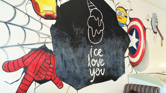ice love you, vegan, vegan ice cream, vegan desserts, chiang mai, thailand, cheap
