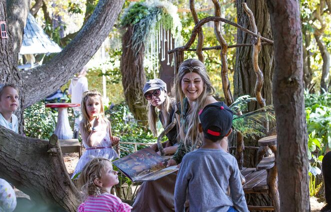 Kids love the stories told by the Fairy