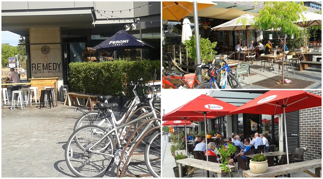 kingston foreshore, canberra, lake burley griffin, cycle route, bike ride, eastern loop, cafes, brasserie, local press, remedy,