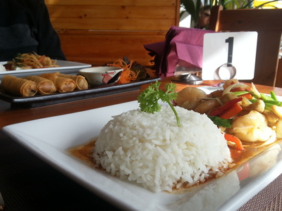 Lai Thai Restaurant offers its patrons tantalising Thai food