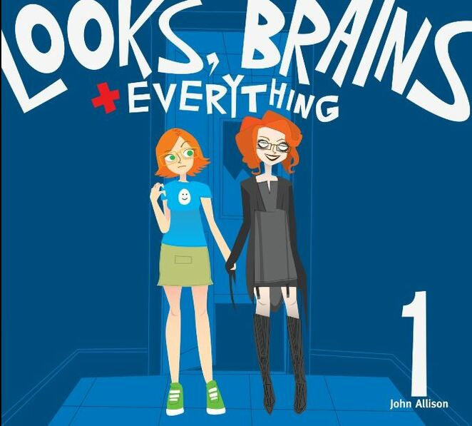 Looks Brains and Everything, Scary Go Round, comics, graphic novel, web comics, John Allison, Rachel and Tessa