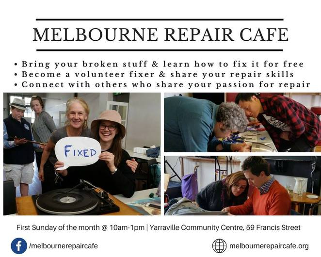 Melbourne Repair Cafe finds a new way