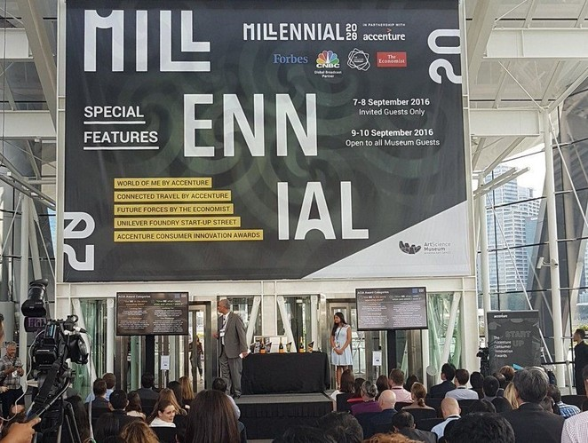 Millenial 20/20, Carriageworks, Sydney, Global Summit