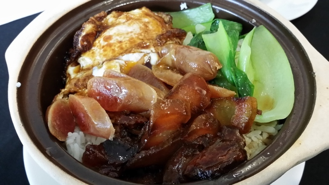 Ming Room, Southern Lap Cheong Clay Pot Rice, Adelaide