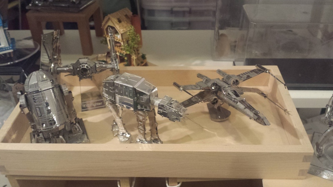 music box, Starwars, Starwars collectible, DIY toy, CIY craft, bluestone crafts and toys, SGF 2016