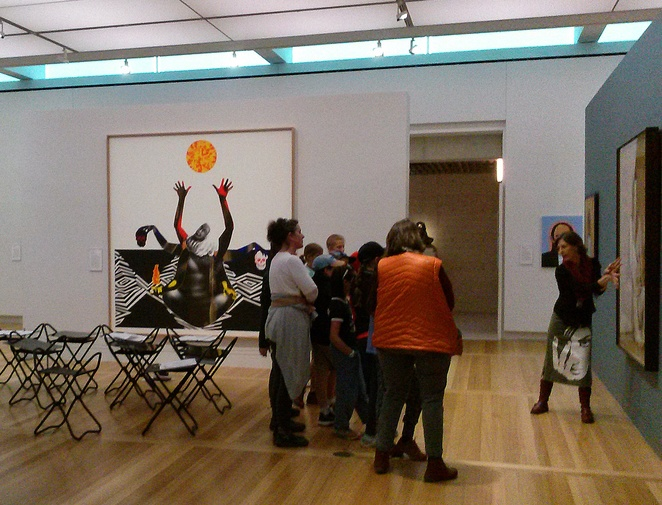 national portrait gallery, free tours, free guided tours, whats on, things to do, free guided tours in canberra, tour guides,