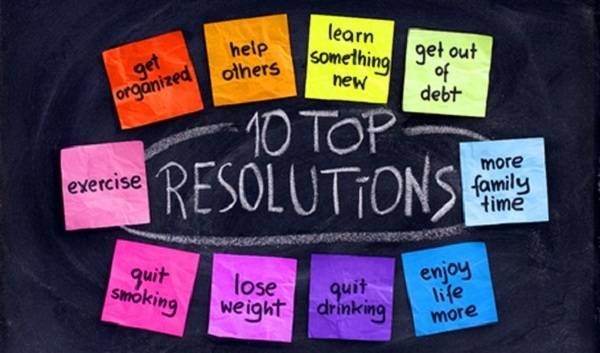 a new year resolutions
