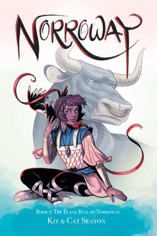 Norroway, The Black Bull of Norroway, fairy tale, comics, graphic novel, fairy tale comic, Cat Seaton, Kit Seaton, animal companions