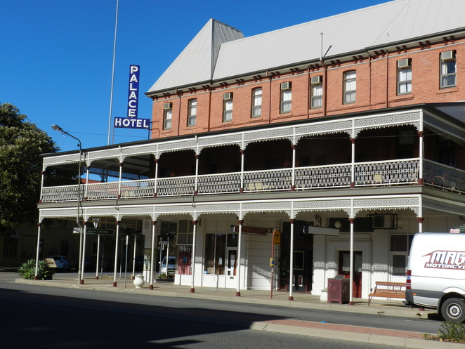 Palace Hotel, Broken Hill, Outback, Architecture