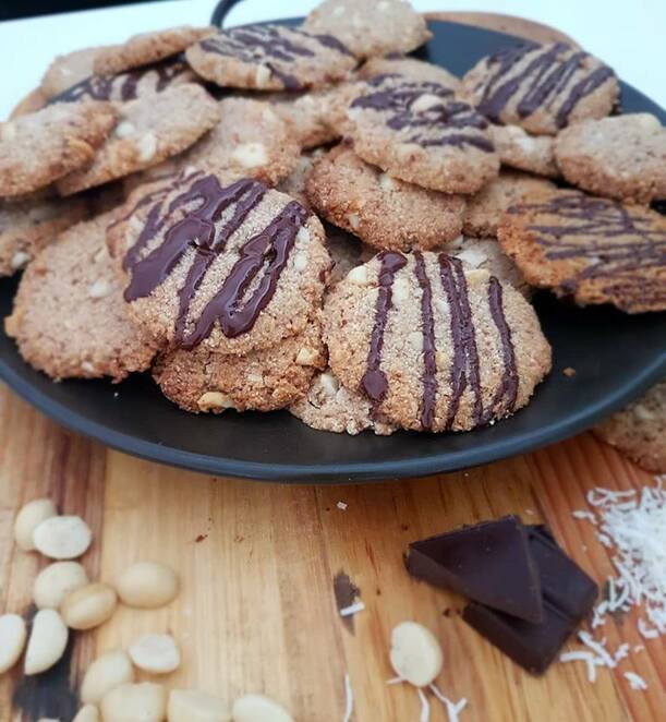 paleo biscuits and cookies 2020, consider food intolerances, grain free everything dough, online cooking class, making cookies and biscuits, making grain free everything dough, to stir with love, fun things to do, community events, online cooking classes, desserts