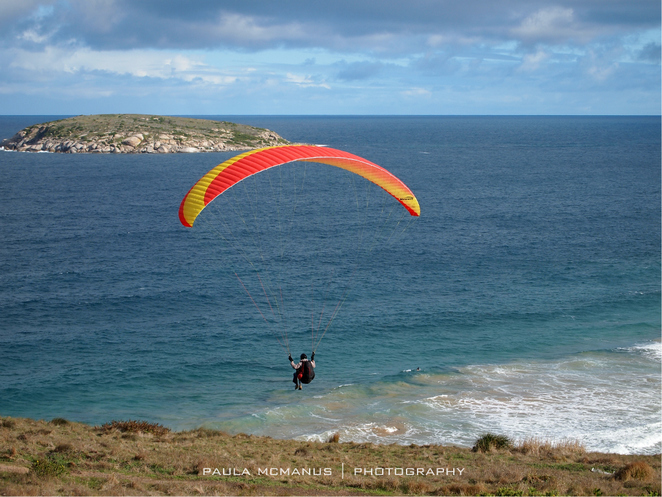 Paragliders, The Bluff, Victor Harbor