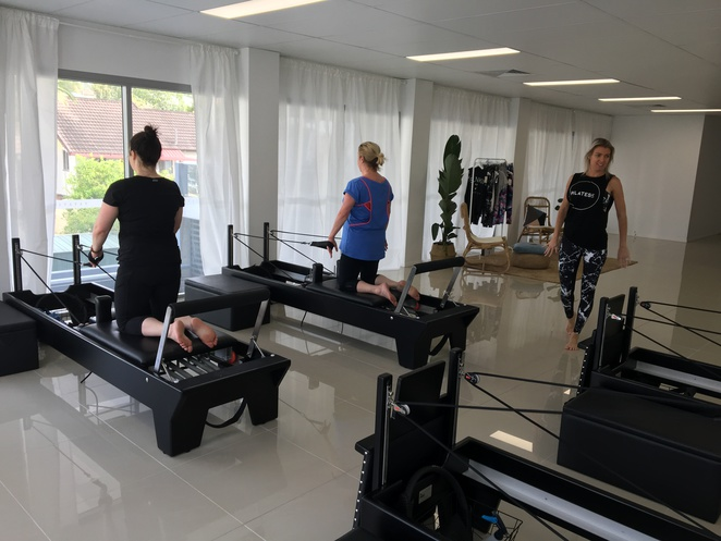 Pilates Place, reformer pilates, pilates, machine, reformer, carriage, springs, workout, exercise, full body, flexibility, agility, strength