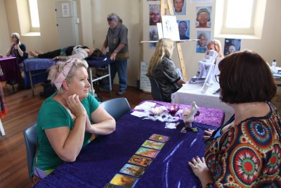 psychic fair at spiritual mission