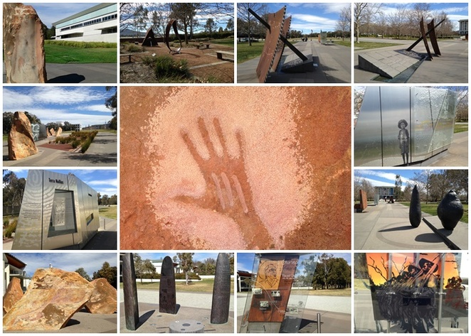reconciliation place, canberra, ACT, indigenous, art, history, parliamentary triangle,