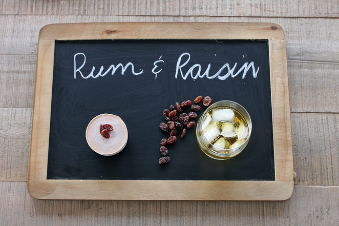 Rum Raisin Dessert Cheesecake Food