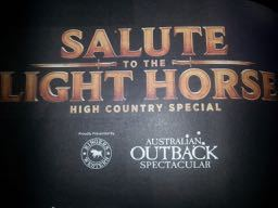 Salute to the Light Horse, Outback Spectacular, Australia, Gold Coast, Village Roadshow