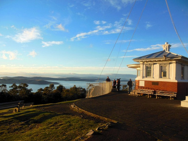 signal station post, mt nelson, hobart