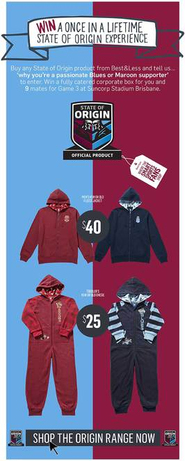 State of Origin, Competition, Football, NRL, Win tickets to State of Origin