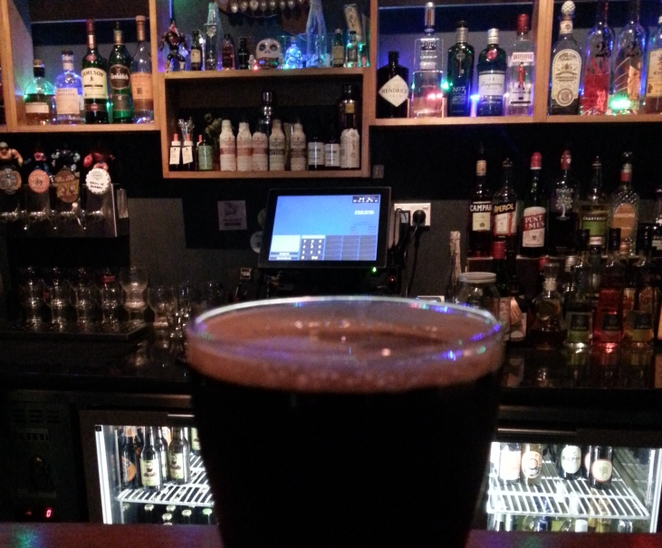 Stout and Porter Craft Beers at The SG