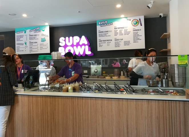 supa bowl, canberra, ACT, poke bowls, sashimi, healthy takeaway, alinga street, no name lane,